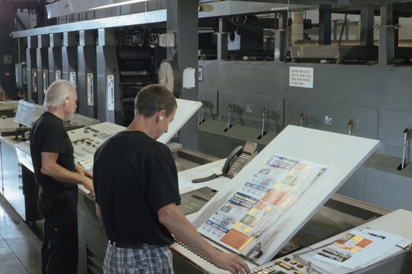 Heatset Web Printing | Unlimited Ink Incorporated